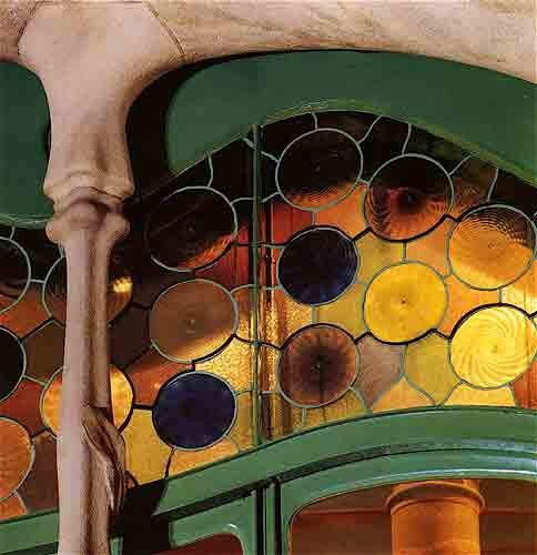 Casa Batllo / Stained Glass / Stained glass