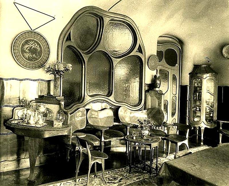 Gaudi designer casa batllo album dining room - Trabajo arquitecto barcelona ...