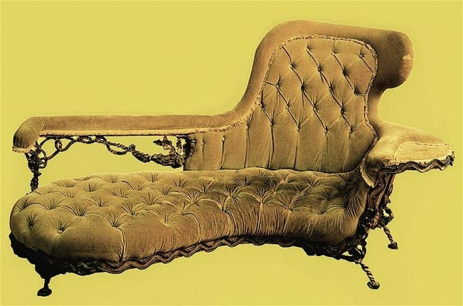 Furniture by gaudi art nouveau for Art nouveau chaise longue