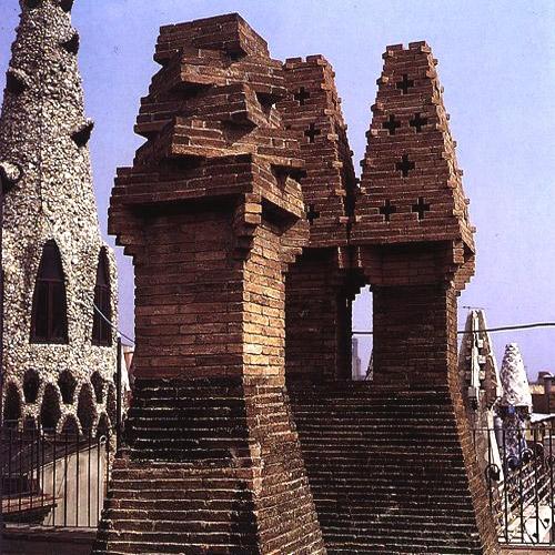 Gaudi Designer Palacio G Ell Others Materials Brick