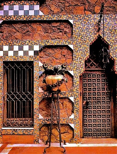 Casa Vicens / Album / D�tail fa�ade