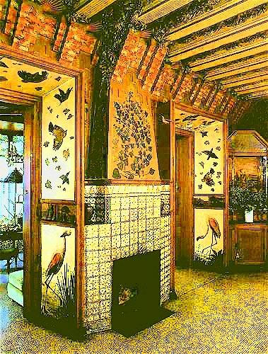Gaudi Designer Casa Vicens Gt Album Interior View