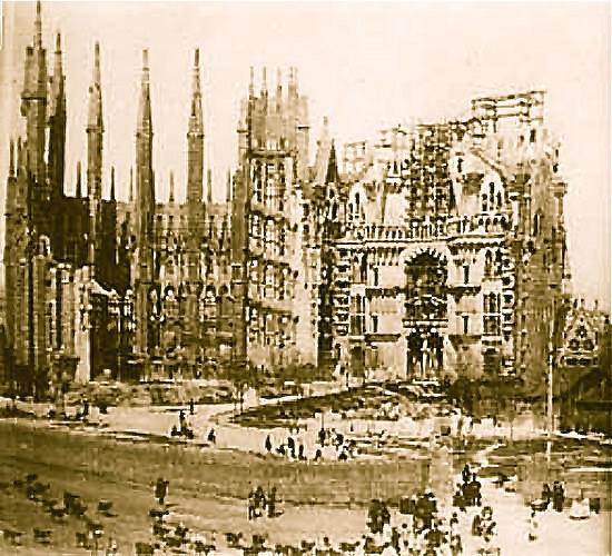 Antecedentes de construcción de Sagrada Familia