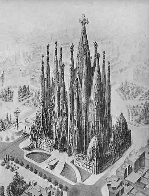 Sagrada familia Antonio Gaudi
