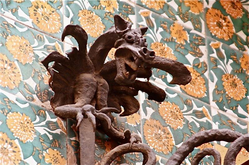 Gaudi Designer Casa Vicens Gt Hierro Forjado